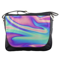 Holographic Design Messenger Bags