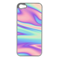Holographic Design Apple Iphone 5 Case (silver)