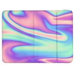 Holographic Design Samsung Galaxy Tab 7  P1000 Flip Case