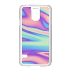 Holographic Design Samsung Galaxy S5 Case (white)