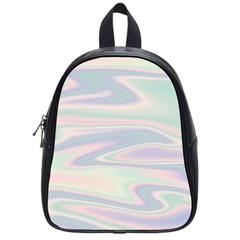 Holographic Design School Bag (small) by tarastyle