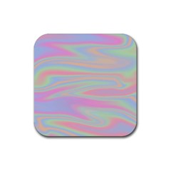 Holographic Design Rubber Coaster (square)  by tarastyle