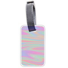Holographic Design Luggage Tags (two Sides) by tarastyle