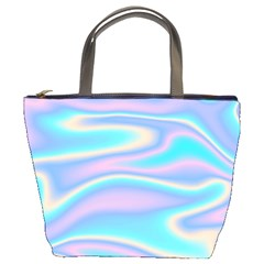 Holographic Design Bucket Bags by tarastyle