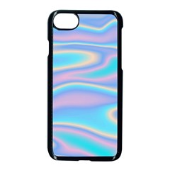 Holographic Design Apple Iphone 8 Seamless Case (black)