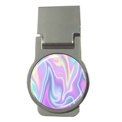 Holographic Design Money Clips (round)  by tarastyle