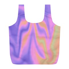 Holographic Design Full Print Recycle Bags (l)  by tarastyle