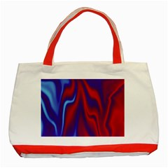Holographic Design Classic Tote Bag (red)