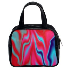 Holographic Design Classic Handbags (2 Sides) by tarastyle