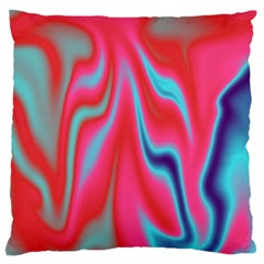 Holographic Design Large Cushion Case (two Sides) by tarastyle