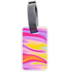Holographic Design Luggage Tags (one Side)  by tarastyle