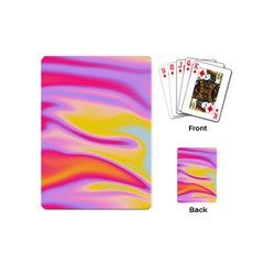 Holographic Design Playing Cards (mini)  by tarastyle