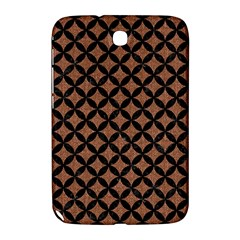 Circles3 Black Marble & Brown Denim Samsung Galaxy Note 8 0 N5100 Hardshell Case  by trendistuff