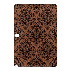 Damask1 Black Marble & Brown Denim Samsung Galaxy Tab Pro 12 2 Hardshell Case