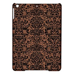 Damask2 Black Marble & Brown Denim Ipad Air Hardshell Cases