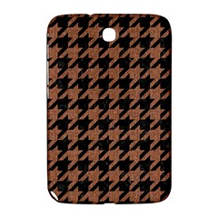 Houndstooth1 Black Marble & Brown Denim Samsung Galaxy Note 8 0 N5100 Hardshell Case  by trendistuff