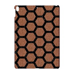 Hexagon2 Black Marble & Brown Denim Apple Ipad Pro 10 5   Hardshell Case by trendistuff