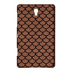Scales1 Black Marble & Brown Denim Samsung Galaxy Tab S (8 4 ) Hardshell Case  by trendistuff