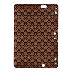 Scales2 Black Marble & Brown Denim Kindle Fire Hdx 8 9  Hardshell Case by trendistuff