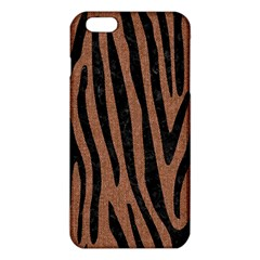 Skin4 Black Marble & Brown Denim (r) Iphone 6 Plus/6s Plus Tpu Case by trendistuff