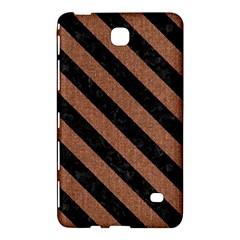 Stripes3 Black Marble & Brown Denim Samsung Galaxy Tab 4 (8 ) Hardshell Case  by trendistuff