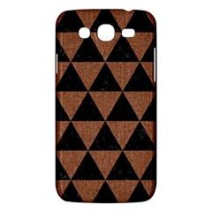 Triangle3 Black Marble & Brown Denim Samsung Galaxy Mega 5 8 I9152 Hardshell Case  by trendistuff