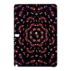 Floral Skulls In The Darkest Environment Samsung Galaxy Tab Pro 10 1 Hardshell Case by pepitasart
