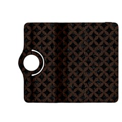 Circles3 Black Marble & Dark Brown Wood (r) Kindle Fire Hdx 8 9  Flip 360 Case by trendistuff