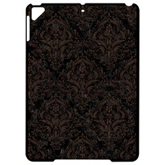 Damask1 Black Marble & Dark Brown Wood (r) Apple Ipad Pro 9 7   Hardshell Case by trendistuff