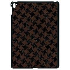 Houndstooth2 Black Marble & Dark Brown Wood Apple Ipad Pro 9 7   Black Seamless Case by trendistuff