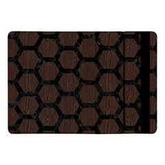 Hexagon2 Black Marble & Dark Brown Wood Apple Ipad Pro 10 5   Flip Case by trendistuff