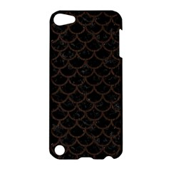 Scales1 Black Marble & Dark Brown Wood (r) Apple Ipod Touch 5 Hardshell Case by trendistuff