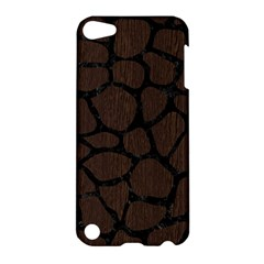 Skin1 Black Marble & Dark Brown Wood (r) Apple Ipod Touch 5 Hardshell Case by trendistuff