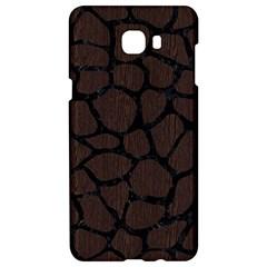 Skin1 Black Marble & Dark Brown Wood (r) Samsung C9 Pro Hardshell Case  by trendistuff