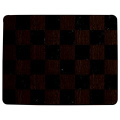Square1 Black Marble & Dark Brown Wood Jigsaw Puzzle Photo Stand (rectangular) by trendistuff