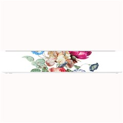Fleur Vintage Floral Painting Small Bar Mats by Celenk