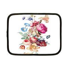 Fleur Vintage Floral Painting Netbook Case (small)