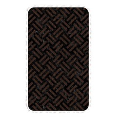 Woven2 Black Marble & Dark Brown Wood (r) Memory Card Reader by trendistuff