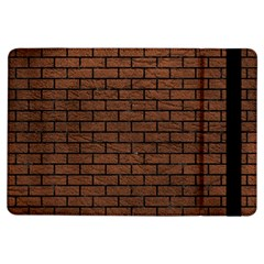 Brick1 Black Marble & Dull Brown Leather Ipad Air Flip by trendistuff