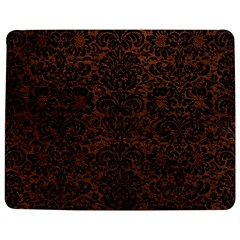 Damask2 Black Marble & Dull Brown Leather Jigsaw Puzzle Photo Stand (rectangular) by trendistuff