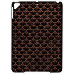 Scales3 Black Marble & Dull Brown Leather (r) Apple Ipad Pro 9 7   Hardshell Case by trendistuff