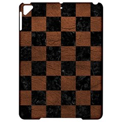 Square1 Black Marble & Dull Brown Leather Apple Ipad Pro 9 7   Hardshell Case by trendistuff