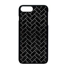 Brick2 Black Marble & Gray Brushed Metal (r) Apple Iphone 7 Plus Seamless Case (black) by trendistuff