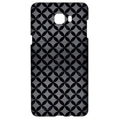 Circles3 Black Marble & Gray Brushed Metal Samsung C9 Pro Hardshell Case  by trendistuff