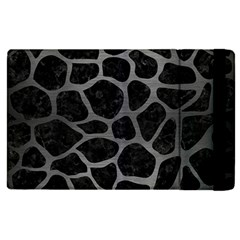 Skin1 Black Marble & Gray Brushed Metal Apple Ipad Pro 9 7   Flip Case by trendistuff