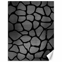 Skin1 Black Marble & Gray Brushed Metal (r) Canvas 12  X 16   by trendistuff