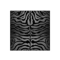 Skin2 Black Marble & Gray Brushed Metal Satin Bandana Scarf