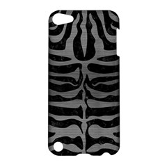 Skin2 Black Marble & Gray Brushed Metal (r) Apple Ipod Touch 5 Hardshell Case by trendistuff