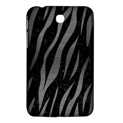 Skin3 Black Marble & Gray Brushed Metal (r) Samsung Galaxy Tab 3 (7 ) P3200 Hardshell Case  by trendistuff