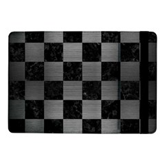 Square1 Black Marble & Gray Brushed Metal Samsung Galaxy Tab Pro 10 1  Flip Case by trendistuff